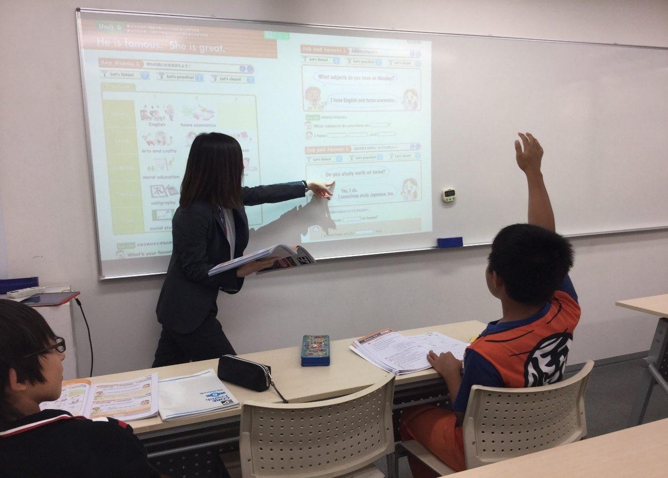 最新授業風景 Leadersコース英語の授業風景