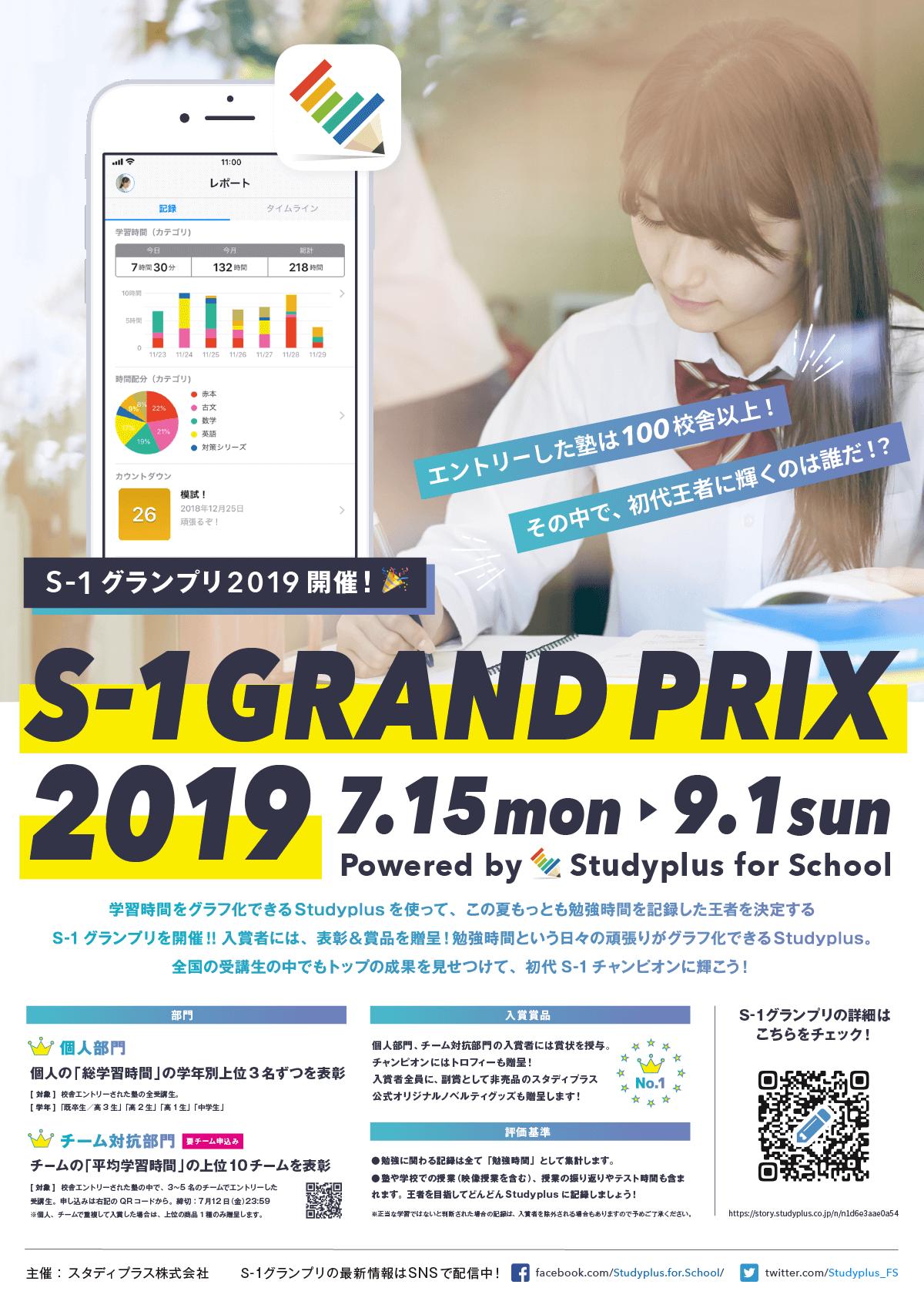 S-1 Grand Prix 2019 高校生がんばっています!