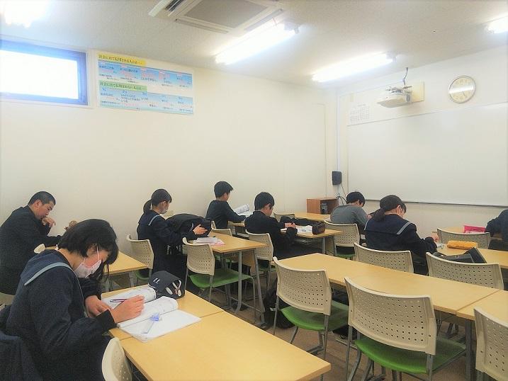 滝尾中学校 学年末テスト1週間前!!